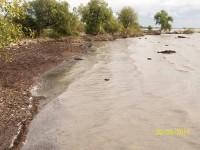 Abrasi pantai di Desa Baku Tuo